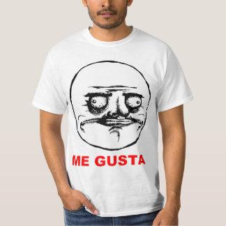 Ich Gusta Raserei-Gesicht Meme Hemd