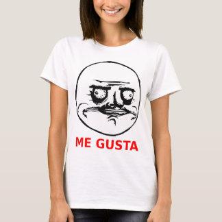 Ich Gusta stelle mit Text gegenüber T-Shirt