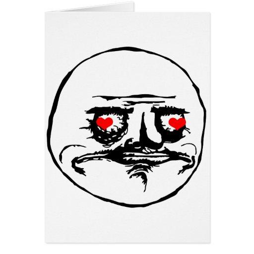 Ich Gusta Valentine in der Liebe - meme Karte
