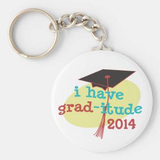 Ich habe Absolventen-itude - lustigen Abschluss 20 Standard Runder Schlüsselanhänger