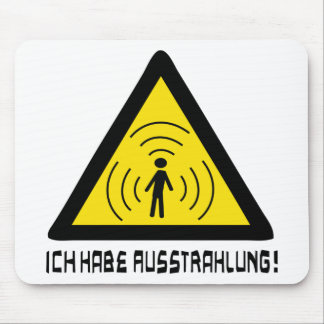 Ich habe Ausstrahlung Ikone Mousepads