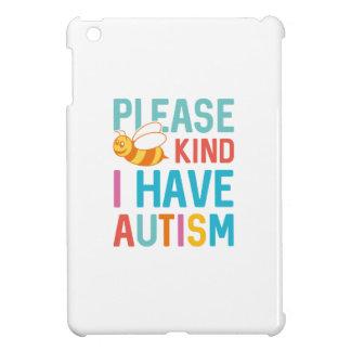 Ich habe Autismus iPad Mini Hülle