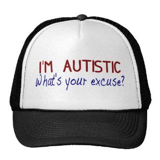 Ich habe Autismus Baseball Kappe