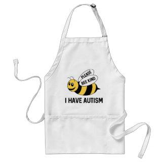 Ich habe Autismus Schürze