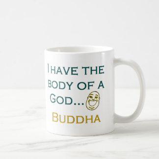 Ich habe den Körper eines Gottes Kaffeetasse