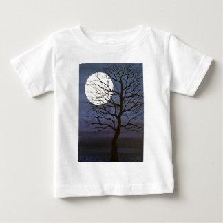 Ich habe den Mond berührt Baby T-shirt