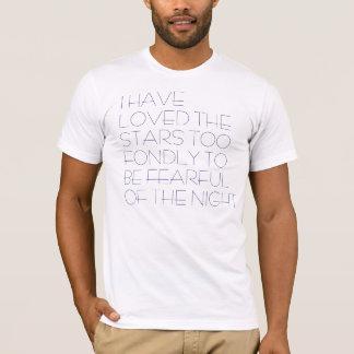 Ich habe die Sterne geliebt T-Shirt