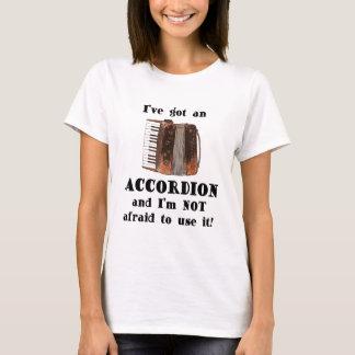 Ich habe ein Akkordeon T-Shirt