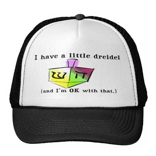 Ich habe ein kleine Dreidel Hüte Retrokultmütze
