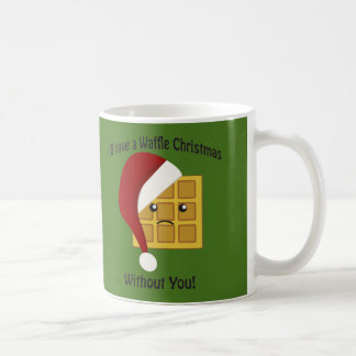 Ich habe ein Waffel-Weihnachten ohne Sie Tasse