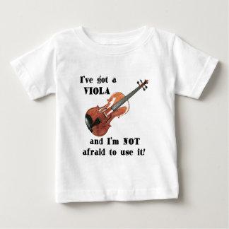 Ich habe eine Viola Baby T-shirt