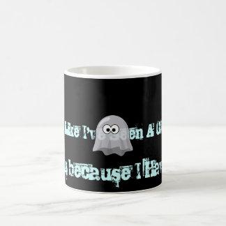 Ich habe einen Geist gesehen Kaffeetasse