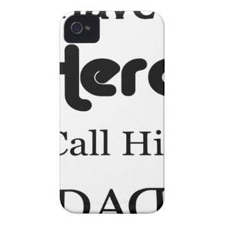 Ich habe einen Held, den ich ihn Vati anrufe iPhone 4 Case-Mate Hülle