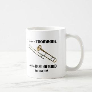 Ich habe einen Trombone Kaffeetasse