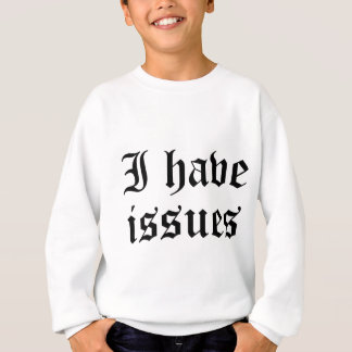 Ich habe Fragen Sweatshirt