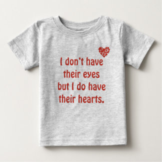 Ich habe ihre Augen - Adoptions-T - Shirt