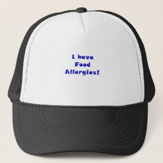 Ich habe Nahrungsmittelallergien Truckerkappe