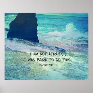 Ich habe nicht Angst. Ich war geboren, diese Poster