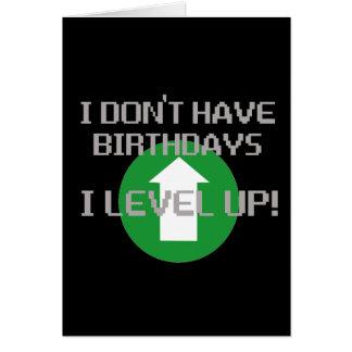 Ich habe nicht Geburtstage… Grußkarte