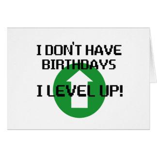 Ich habe nicht Geburtstage… Karten