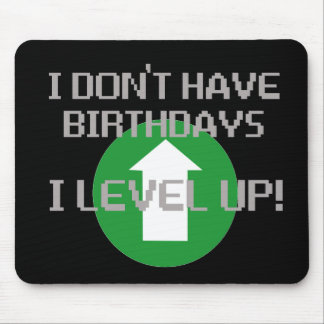 Ich habe nicht Geburtstage… Mousepad