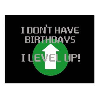 Ich habe nicht Geburtstage… Postkarte