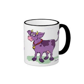 Ich habe nie eine lila Kuh gesehen Ringer Tasse