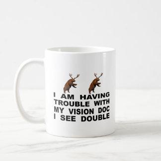Ich habe Problem mit meiner Vision Doc., das ich Kaffeetasse