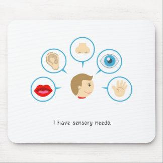 Ich habe sensorischen Bedarf - mousepad