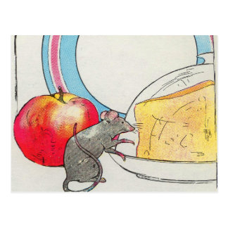 Ich habe Sie, kleine Maus gesehen Postkarte