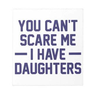 Ich habe Töchter Notizblock
