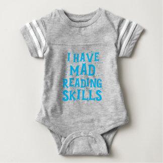 ich habe wütende Lesefähigkeiten Baby Strampler
