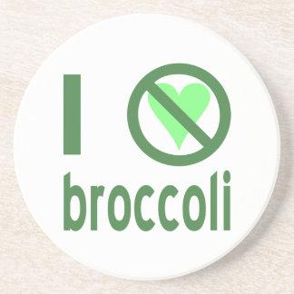Ich hasse Brokkoli Getränkeuntersetzer
