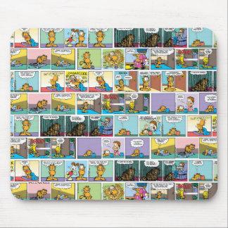 Ich hasse Comic-Streifen Montage Garfield