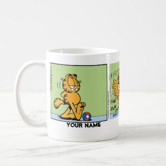 """""""Ich hasse Comic-Streifen Montage"""" Garfield Kaffeetasse"""