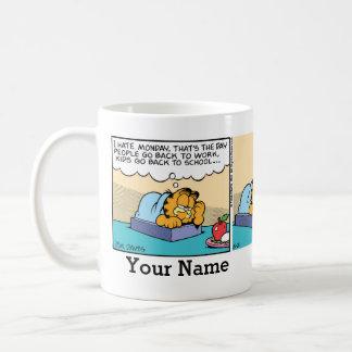 """""""Ich hasse Comic-Streifen Montages"""" Garfield Kaffeetasse"""