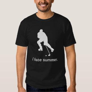 Ich hasse den Sommer (dunkel) Tshirts
