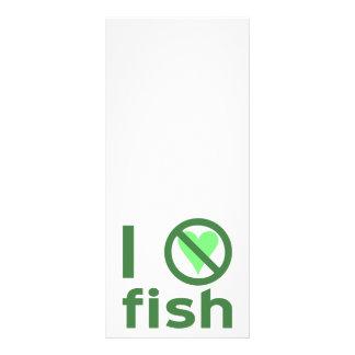 Ich hasse Fische Werbekarte