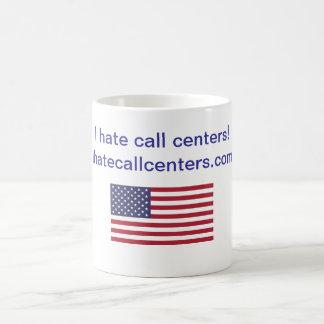 Ich hasse Kundenkontaktcenter! Geschenke Tasse