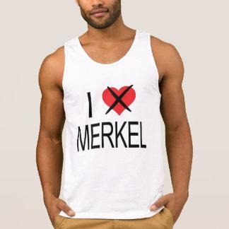 ICH HASSE Merkel Tank Top