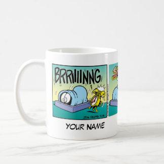 Ich hasse Morgen- Garfield-Comic-Streifen