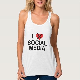 Ich hasse Sozialmedien Tank Top