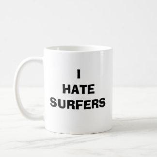 ICH HASSE SURFER KAFFEETASSE