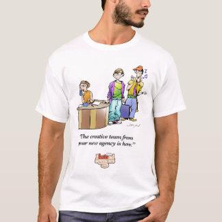 Ich hasse Werbeagentur-Team-Kleid T-Shirt