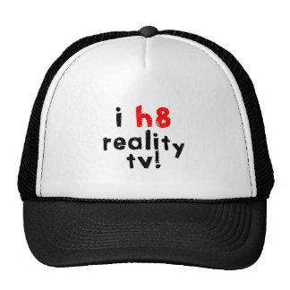 Ich hasse Wirklichkeits-Fernsehen Baseball Kappe