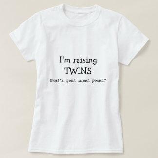 Ich hebe Zwillinge, was bin Ihr SuperPower an? T-Shirt