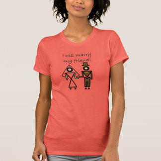 Ich heirate meinen Freund T Shirts