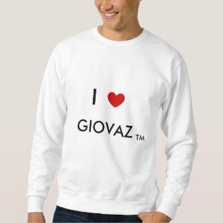 """""""Ich Herz Giovaz"""" Hackfleisch mit Soße Sweatshirt"""