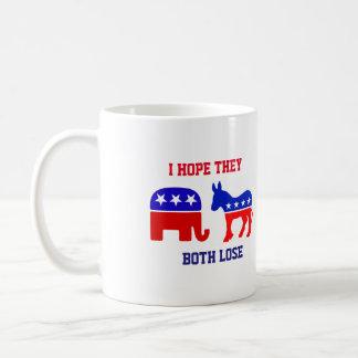 Ich hoffe, dass sie beide politische tasse