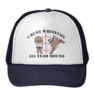 Ich jage Whitetail das ganze Jahr hindurch Baseballmützen